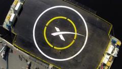 Spacex landing platform