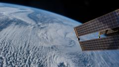 Image of Earth from ISS