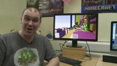 Minecraft expert Adam