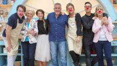 celebrities in the new series of the great comic relief bake off