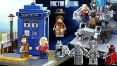 Lego Doctor Who figures