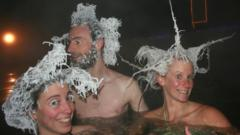 Hair freezing competition