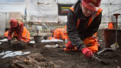 Excavation in London