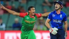 Bangladesh and England