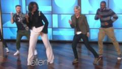 Michelle Obama and Ellen DeGeneres