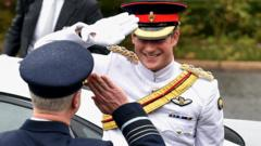 Prince Harry received a warm welcome when he arrived in Australia.