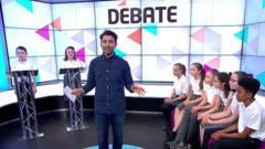 Ricky talking about debates