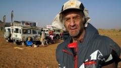 Sir Ranulph Fiennes, Marathon de Sables 2015