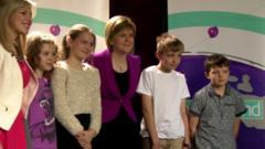 Nicola Sturgeon and Newsround viewers