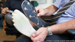 The sensors on the prosthetic
