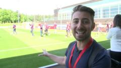Ricky at St George's Park