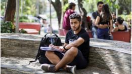 Nathan Neubaner, aluno do Transenem aprovado para Engenharia Ambiental