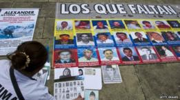Desaparecidos na guerra colombiana