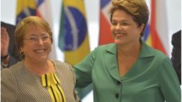 Dilma e Bachelet