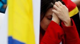 Colombiana reage a resultado de referendo