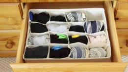 Gaveta com meias