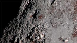Superfície de Plutão