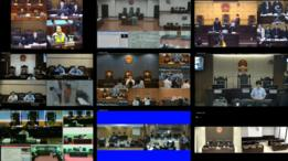 Screengrabs from courts