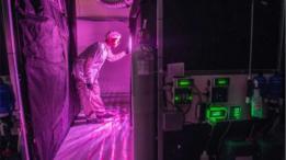 Laboratório de produção de maconha da Bedrocan, no Canadá