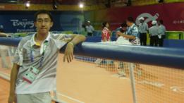 Guan Zhixun nos Jogos Paralímpicos em Pequim