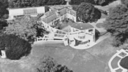 Casa do casal Schlesinger e Tunnard