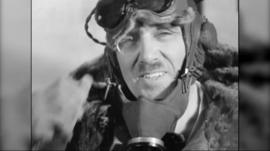 Historic footage of the first flight over Mount Everest was shot by Major Stewart Blacker in 1933