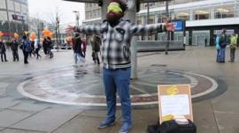 Syrian refugee in Berlin