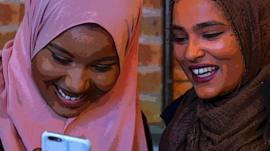 To women wearing hijabs