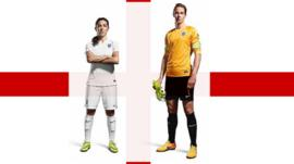 Fara Williams (left) is the England squad's most-capped player and Karen Bardsley (right) is goalkeeper