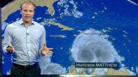 Simon King tells Newsround what's next for Hurricane Matthew
