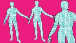 رسم توضيحي للبكتيريا في جسم الإنسان