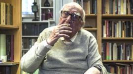 Muere Andrea Camilleri, el creador del comisario Montalbano