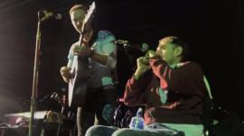 Chris Martin and Rob