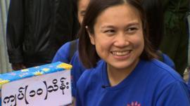 Young banker Nang Kham Noung
