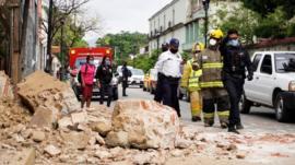 Por qué el terremoto de esta semana en México causó menos daños que el del 19 de septiembre de 2017 si fue de mayor magnitud