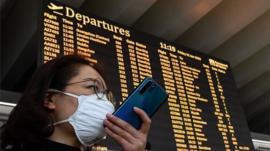 Grandes aerolíneas suspenden sus vuelos a China y EE.UU. veta la entrada de extranjeros que hayan estado en ese país