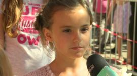 A young girl told us how the auditions went