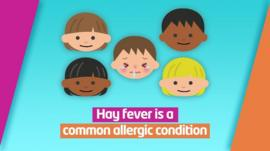 Hay fever is an allergy which affects lots of people in the UK - and the warmer weather can sometimes make it worse for people who have it...