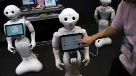 Care-robots with screens