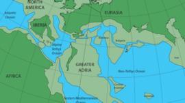 Gran Adria: el increíble hallazgo de los restos de un continente perdido que está sepultado bajo el sur de Europa