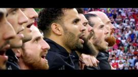Y fideo emosiynol wnaeth gloi'r noson a chrynhoi Euro 2016 Cymru