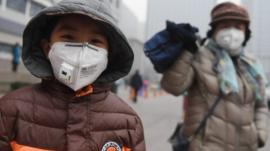 The Chinese capital of Beijing is on red alert because a thick blanket of pollution - called smog - has been covering the city for the last week.