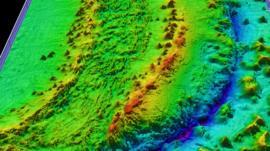 Qué muestra el ambicioso e inmenso mapa del fondo marino con el que esperan conocer las profundidades de nuestro planeta