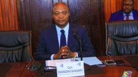 Emmanuel Ramazani Shadary candidat de la majorité en RDC