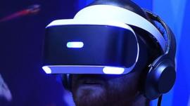 Playstation VR headset