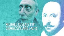 Michael Rosen and William Shakespeare