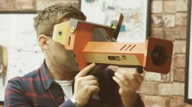 Trying out Nintendo Labo's VR kits