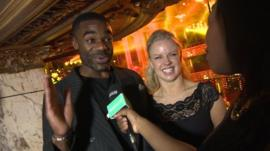 Ore on Strictly