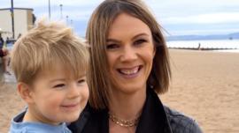 Lisa and son