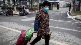 Wuhan, la ciudad china donde se originó el nuevo brote de coronavirus y aislada por las autoridades